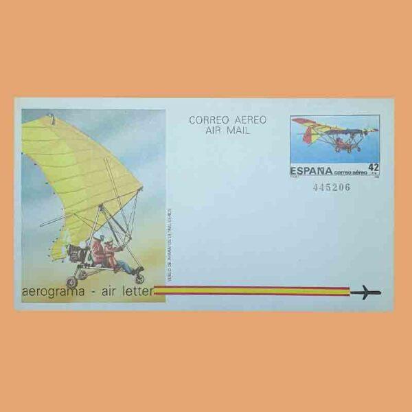 Aerogramas 209 y 210 Aerograma 1985