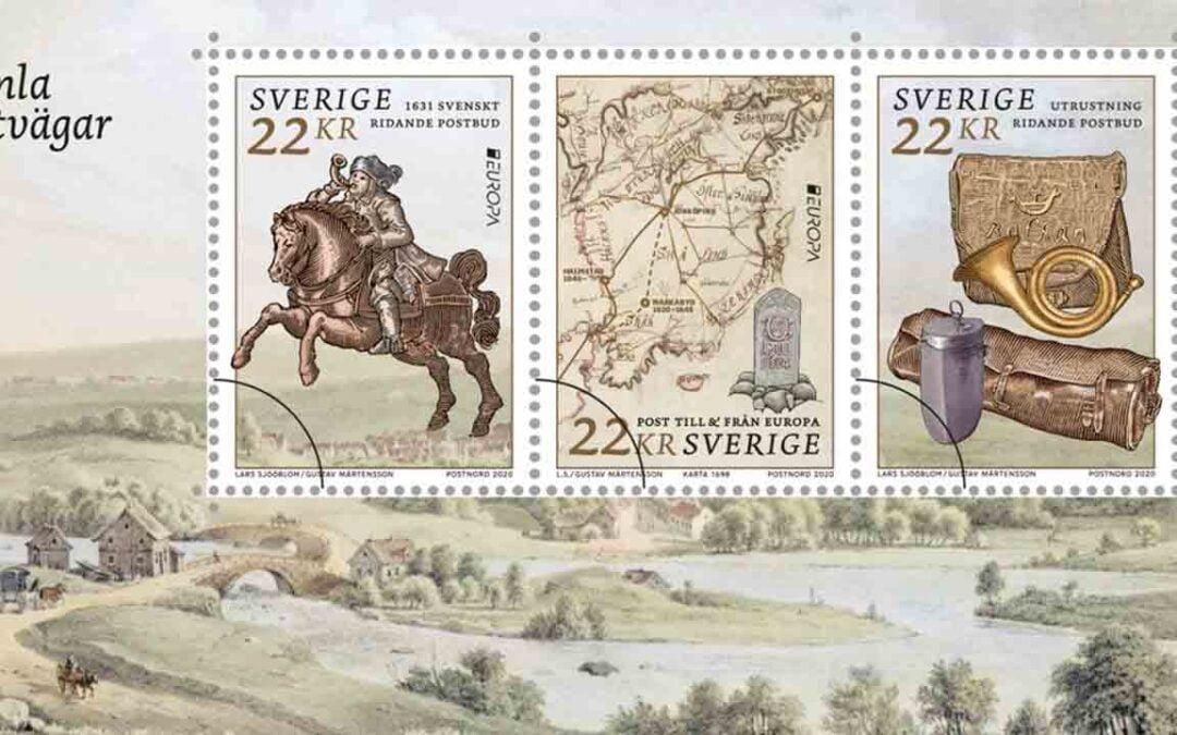 Hojas de emisión de Europa – Rutas Postales