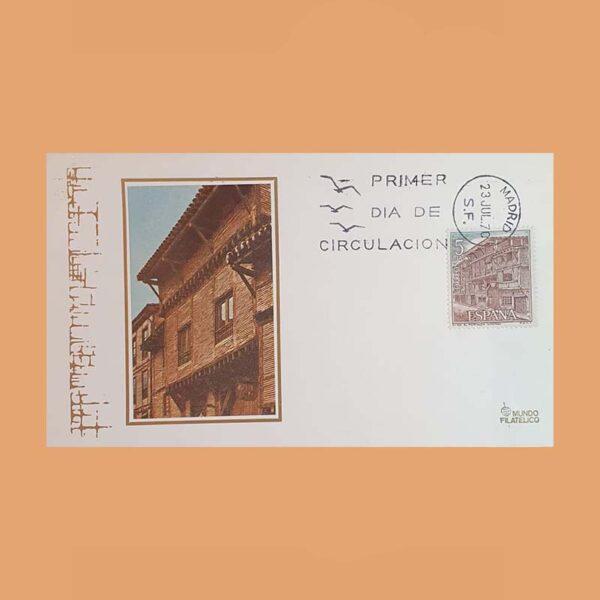 Edifil 1982/7 PD. Serie Turística 1970. Sobre Primer Día