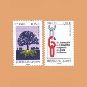 2010 Francia Serie 146/7. Consejo de Europa