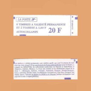 1996 Francia 1507 Carnet Marianne de Briat
