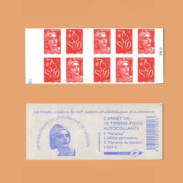2006 Francia 1514 Carnet Mariana de Gandon
