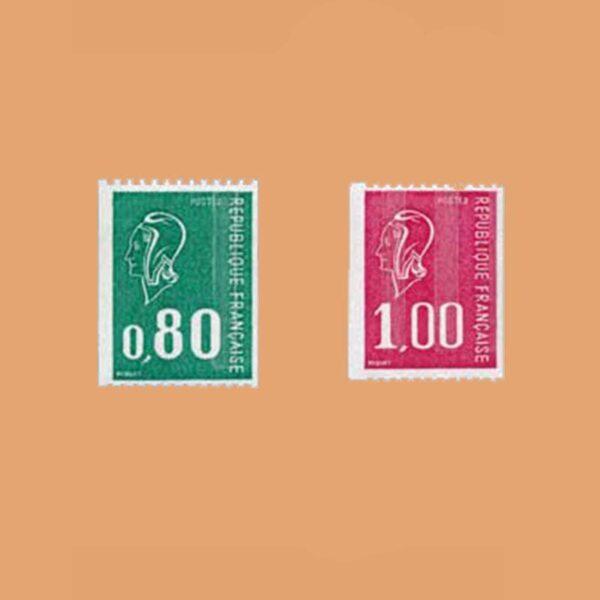 1976 Francia 1894/5 Serie Mariana de Béquet