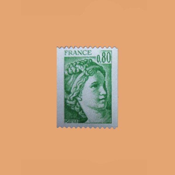 1977 Francia 1980 Sabine de Gandon