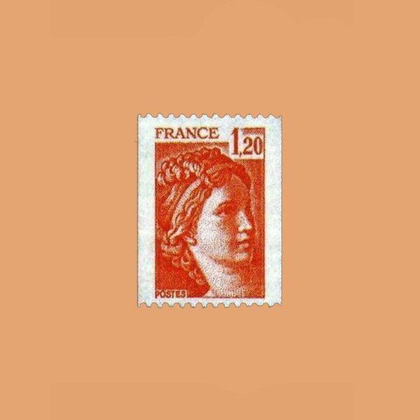 1978 Francia 1981B Sabine de Gandon