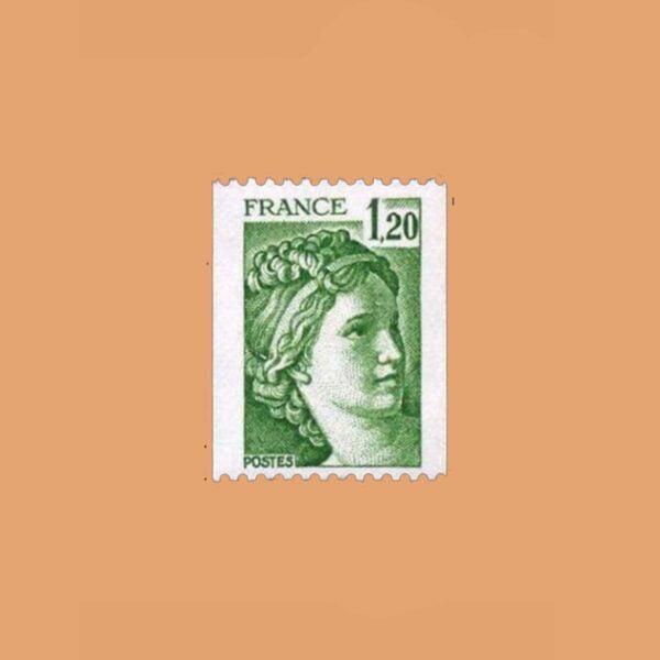 1980 Francia 2103 Sabine de Gandon