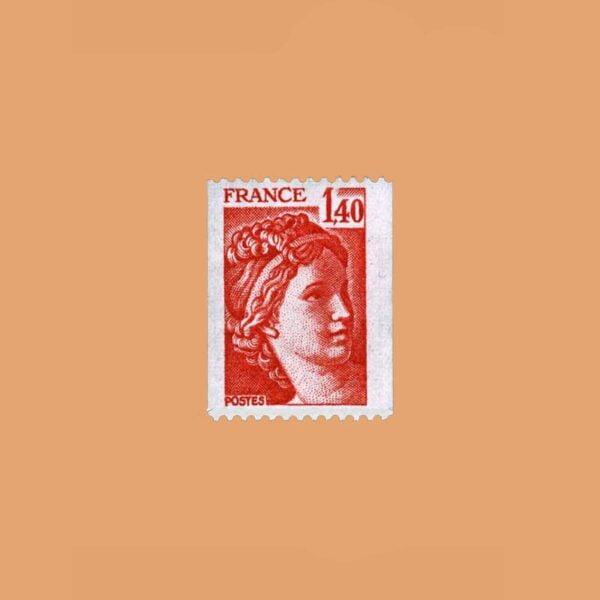 1980 Francia 2104 Sabine de Gandon