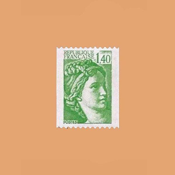 1981 Francia 2157 Sabine de Gandon