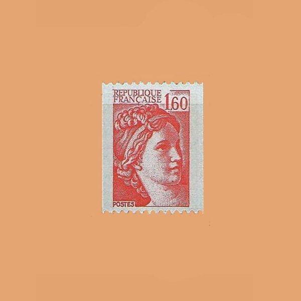 1981 Francia 2158 Sabine de Gandon