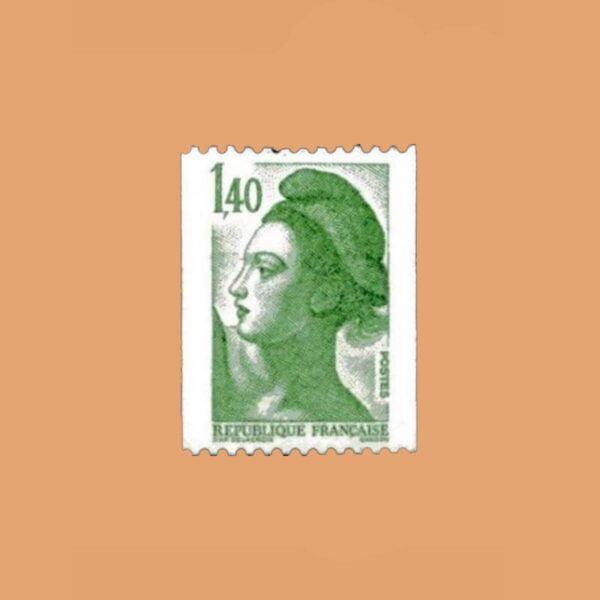 1982 Francia 2191 Liberté de Gandon