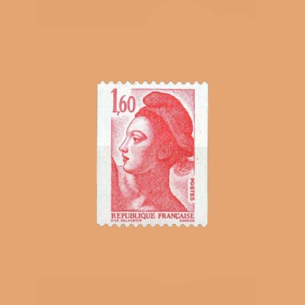 1982 Francia 2192 Liberté de Gandon