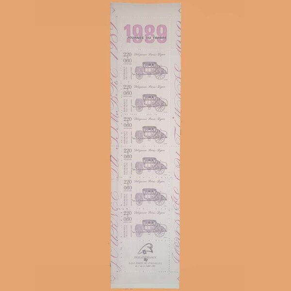 Francia BC2578A Carnet Día del Sello ** 1989