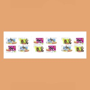 Francia BC268 Carnet Día del Sello Looney Tunes 2009
