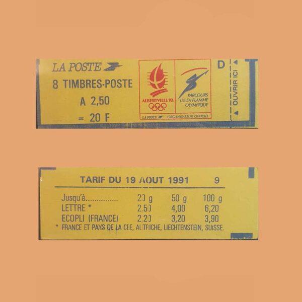 Francia 2715-C1 Carnet Marianne de Briat ** 1991
