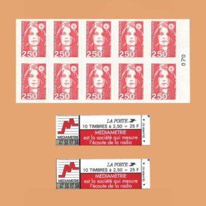 1993 Francia 2720-C3 Carnet Marianne de Briat