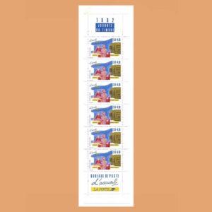 Francia BC2744A Carnet Día del Sello 1992