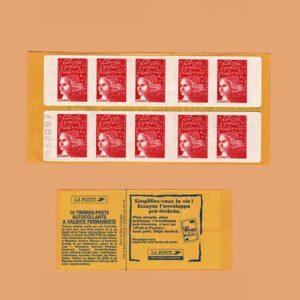 1997 Francia 3085a-C1 Carnet Marianne de 14 de julio