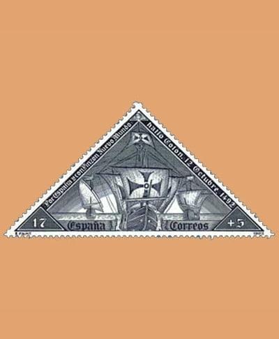 Edifil 3163C. Serie V Centenario del descubrimiento de América **1992