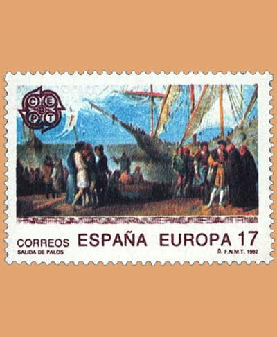 Edifil 3196. Serie Europa **1992