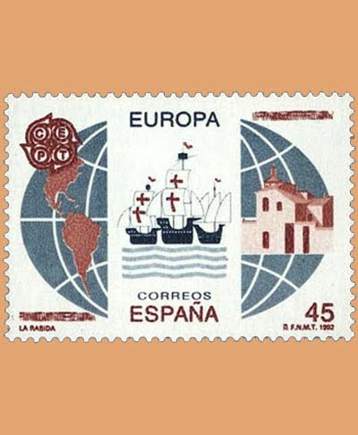 Edifil 3197. Serie Europa **1992