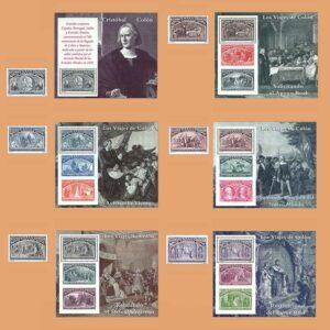 Edifil 3198/203. Serie y Hojas Colón y el descubrimiento **1992