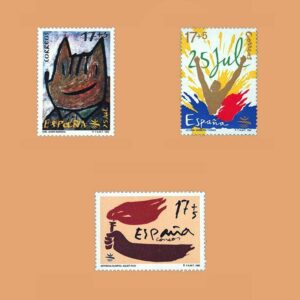 Edifil 3212/4. Serie Juegos de la XXV Olimpiada Barcelona **1992