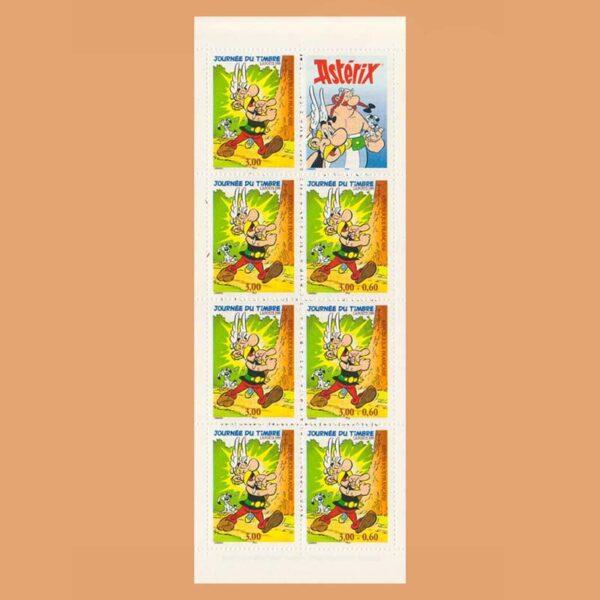 Francia BC3227 Carnet Día del Sello 1999 Asterix