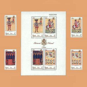 Edifil 3232/6. Serie Patrimonio Artístico Nacional **1992