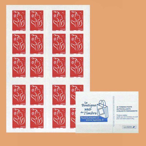 2005 Francia 3744b-C3 Carnet Mariana La Boutique
