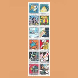 1988 Francia BC2515 Carnet La Comunicación
