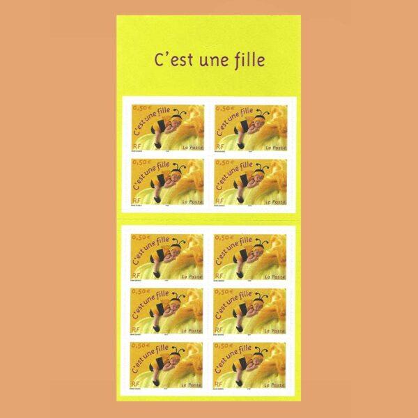 2004 Francia BC3634 Carnet Nacimiento