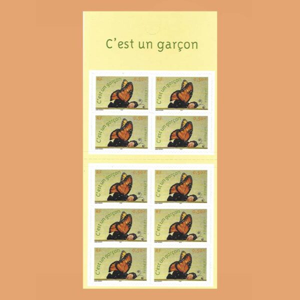 2004 Francia BC3635 Carnet Nacimiento