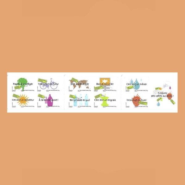 2008 Francia BC4205 Carnet Desarrollo Sostenible