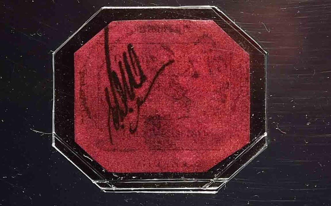El sello más caro del mundo se exhibe en Londres