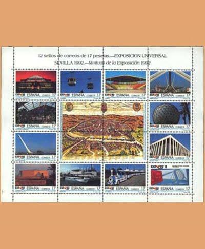 Edifil MP 42A Exposición Universal Sevilla **1992