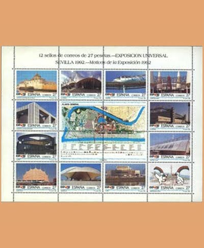 Edifil MP 42B Exposición Universal Sevilla **1992