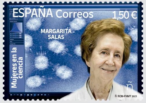 Presentación del sello Margarita Salas
