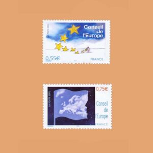 2005 Francia Serie 130/1 Service. Consejo de Europa
