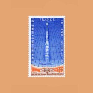1979 Francia 52 Aéreo. Salón Aeronáutico de París