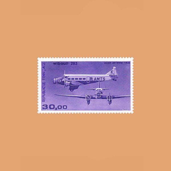1986 Francia 59 Aéreo. Trimotor Wibault 283