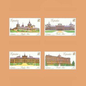 Edifil 3042/5. Serie Patrimonio Nacional. **1989