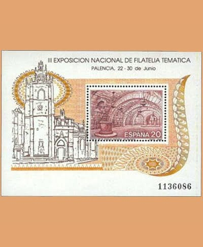 Edifil 3074. Hoja Exposición Filatelia Temática. FILATEM **1990
