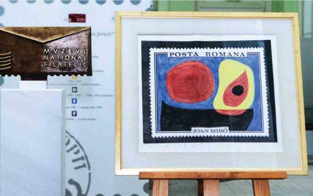 Acuarela de Joan Miró donada a la Rumanía de Ceausescu
