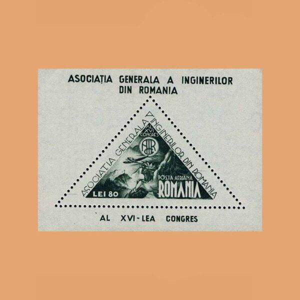 Rumanía BF26. Hoja Asociación de Ingenieros. **1945