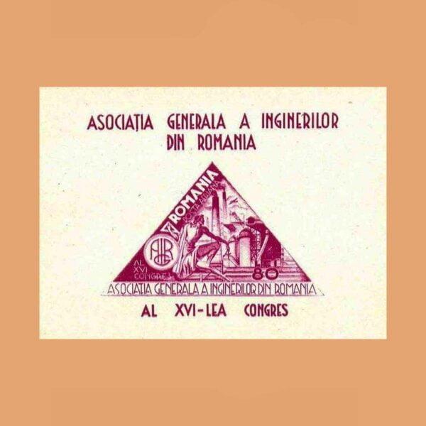 Rumanía BF27. Hoja Asociación de Ingenieros. **1945