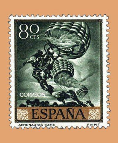 Edifil 1713. José María Sert. Sello 80 cts. **1966