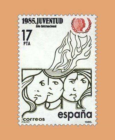 Edifil 2787. Año Internacional de la Juventud. **1985