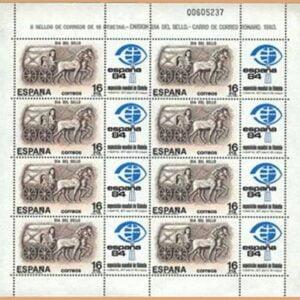 Edifil MP2. Día del Sello. España'84 **1983