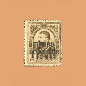 RO 235 En beneficio de las familias. Sobrecargado *1915