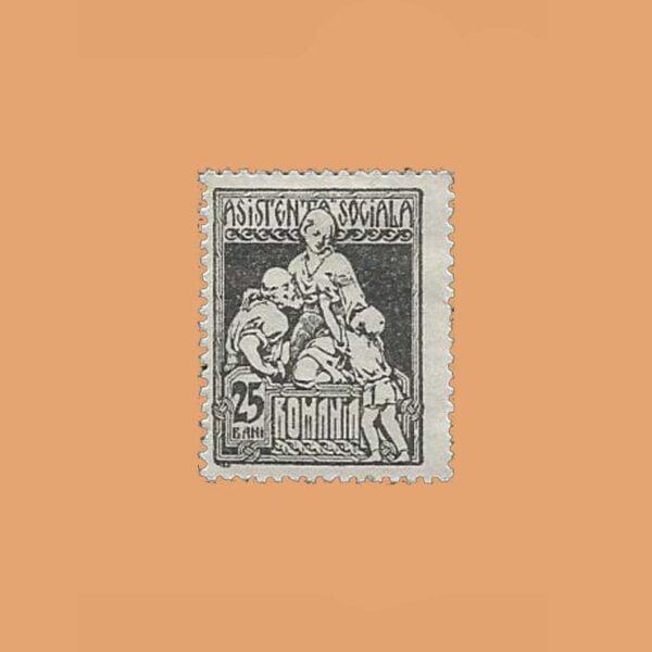 RO 354. Asistencia Social. 1 valor *1928